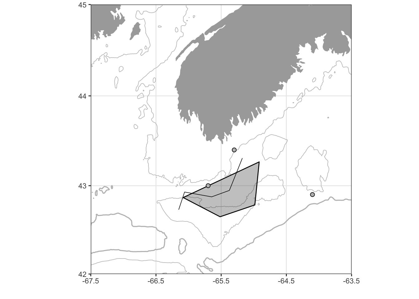 Bathymetric maps in R | Hansen Johnson